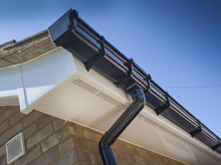 another project by our roofer in lambeth - image is of new fascias and soffits we fitted