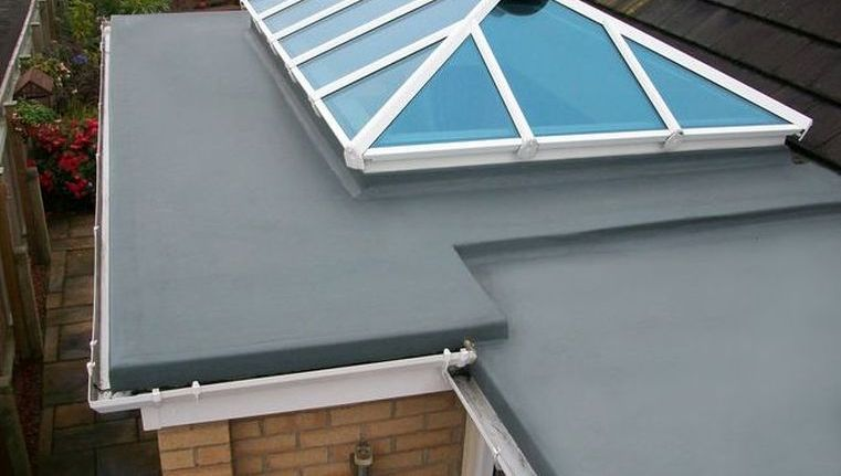 grp roofing work carried out
