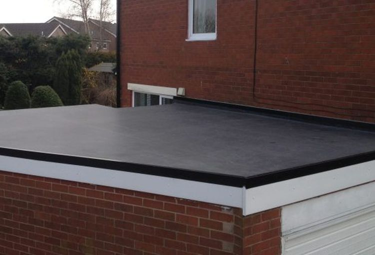 recent work carried out for flat roofing in lambeth